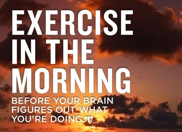 Morning Workout Quotes Enchanting Fitness Morning Motivational Quote  The Best Collection Of Quotes