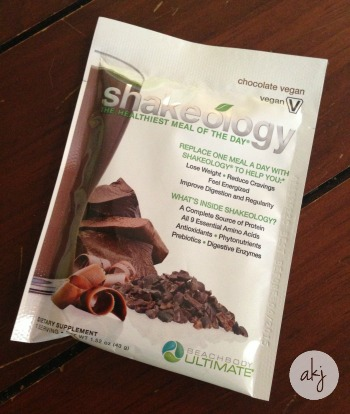 Vegan Chocolate Shakeology