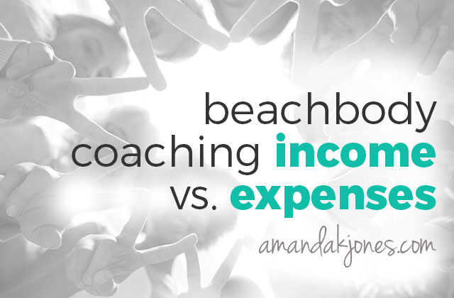 Beachbody coaching income vs. expenses
