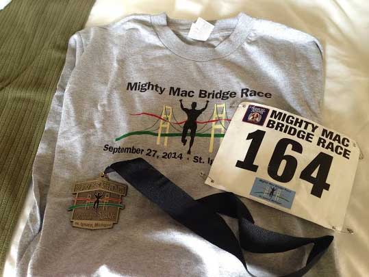 Mighty Mac Bridge Race