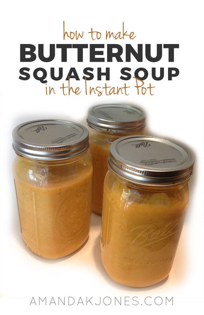 How to Make Butternut Squash in the Intant Pot